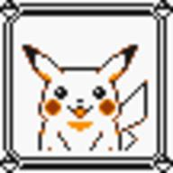faceset faceset_yellow_pikachu game_boy pikachu pocket_monsters_pikachu pokemon_yellow sprite yellow // 54x54 // 411