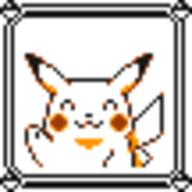 faceset faceset_yellow_pikachu game_boy pikachu pocket_monsters_pikachu pokemon_yellow sprite yellow // 54x54 // 412