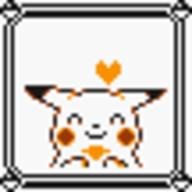 faceset faceset_yellow_pikachu game_boy pikachu pocket_monsters_pikachu pokemon_yellow sprite yellow // 54x54 // 363