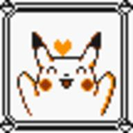 faceset faceset_yellow_pikachu game_boy pikachu pocket_monsters_pikachu pokemon_yellow sprite yellow // 54x54 // 408