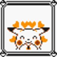faceset faceset_yellow_pikachu game_boy pikachu pocket_monsters_pikachu pokemon_yellow sprite yellow // 54x54 // 395