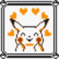 faceset faceset_yellow_pikachu game_boy pikachu pocket_monsters_pikachu pokemon_yellow sprite yellow // 54x54 // 452
