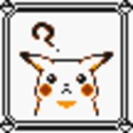 faceset faceset_yellow_pikachu game_boy pikachu pocket_monsters_pikachu pokemon_yellow sprite yellow // 54x54 // 387