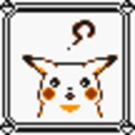 faceset faceset_yellow_pikachu game_boy pikachu pocket_monsters_pikachu pokemon_yellow sprite yellow // 54x54 // 392
