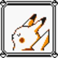faceset faceset_yellow_pikachu game_boy pikachu pocket_monsters_pikachu pokemon_yellow sprite yellow // 54x54 // 391