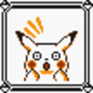 faceset faceset_yellow_pikachu game_boy pikachu pocket_monsters_pikachu pokemon_yellow sprite yellow // 54x54 // 415