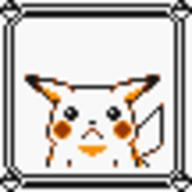 faceset faceset_yellow_pikachu game_boy pikachu pocket_monsters_pikachu pokemon_yellow sprite yellow // 54x54 // 371