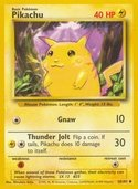 Pikachu from Base Set