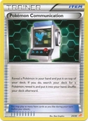 Pokémon Communication from BW Trainer Kit