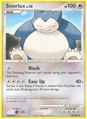 Snorlax from Diamond and Pearl