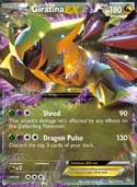 Giratina-EX from Dragons Exalted