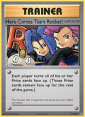Here Comes Team Rocket! from Evolutions