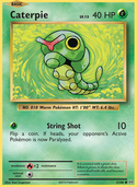 Caterpie from Evolutions