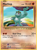 Machop from Evolutions