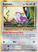 Rattata from Evolutions