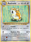 Raticate from Evolutions
