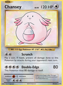 Chansey from Evolutions