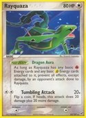 Rayquaza from ex Deoxys