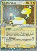 Ampharos ex from ex Dragon