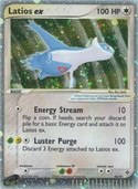 Latios ex from ex Dragon