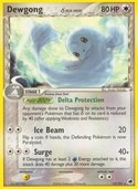 Dewgong  δ from ex Dragon Frontiers