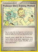 Professor Elm's Training Method from ex Dragon Frontiers