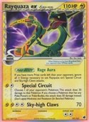 Rayquaza δ ex from ex Dragon Frontiers