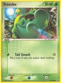 Treecko from ex Emerald