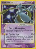 Mewtwo Star from ex Holon Phantoms