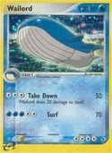 Wailord from ex Ruby Sapphire