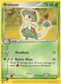 Breloom from ex Ruby Sapphire