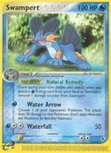 Swampert from ex Ruby Sapphire