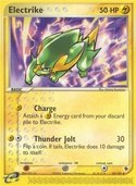 Electrike from ex Ruby Sapphire