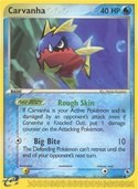 Carvanha from ex Ruby Sapphire
