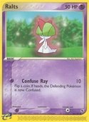 Ralts from ex Ruby Sapphire