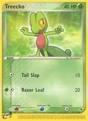 Treecko from ex Ruby Sapphire