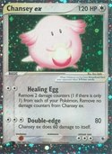 Chansey ex from ex Ruby Sapphire