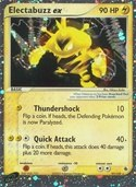 Electabuzz ex from ex Ruby Sapphire