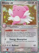 Blissey ex from ex Unseen Forces