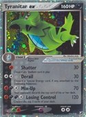 Tyranitar ex from ex Unseen Forces