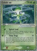Celebi ex from ex Unseen Forces