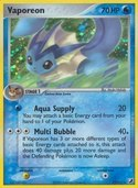 Vaporeon from ex Unseen Forces