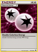 Double Colorless Energy from Fates Collide