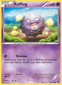 Koffing from Fates Collide