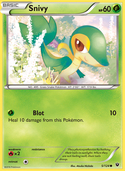 Snivy from Fates Collide