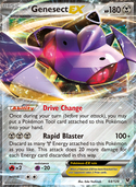 Genesect-EX from Fates Collide