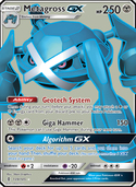 Metagross-GX from Guardians Rising