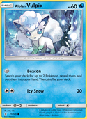 Alolan Vulpix from Guardians Rising