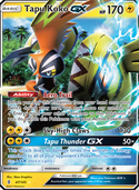 Tapu Koko-GX from Guardians Rising