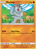 Machop from Guardians Rising